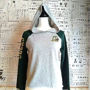 University of Oregon Ducks sequin hoodie Junior's